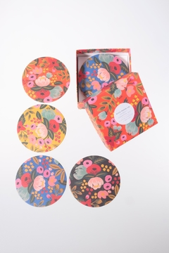 Shoptiques Product: Floral Botanical Coasters