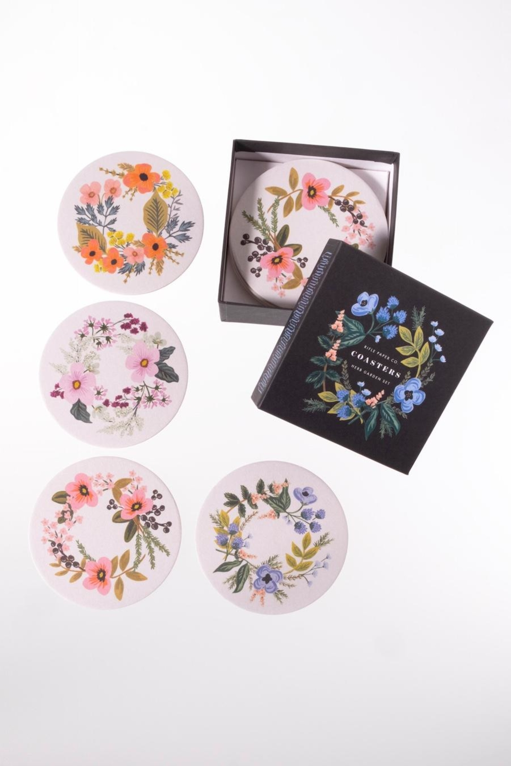 Rifle Paper Co.  Floral Paper Coasters - Main Image