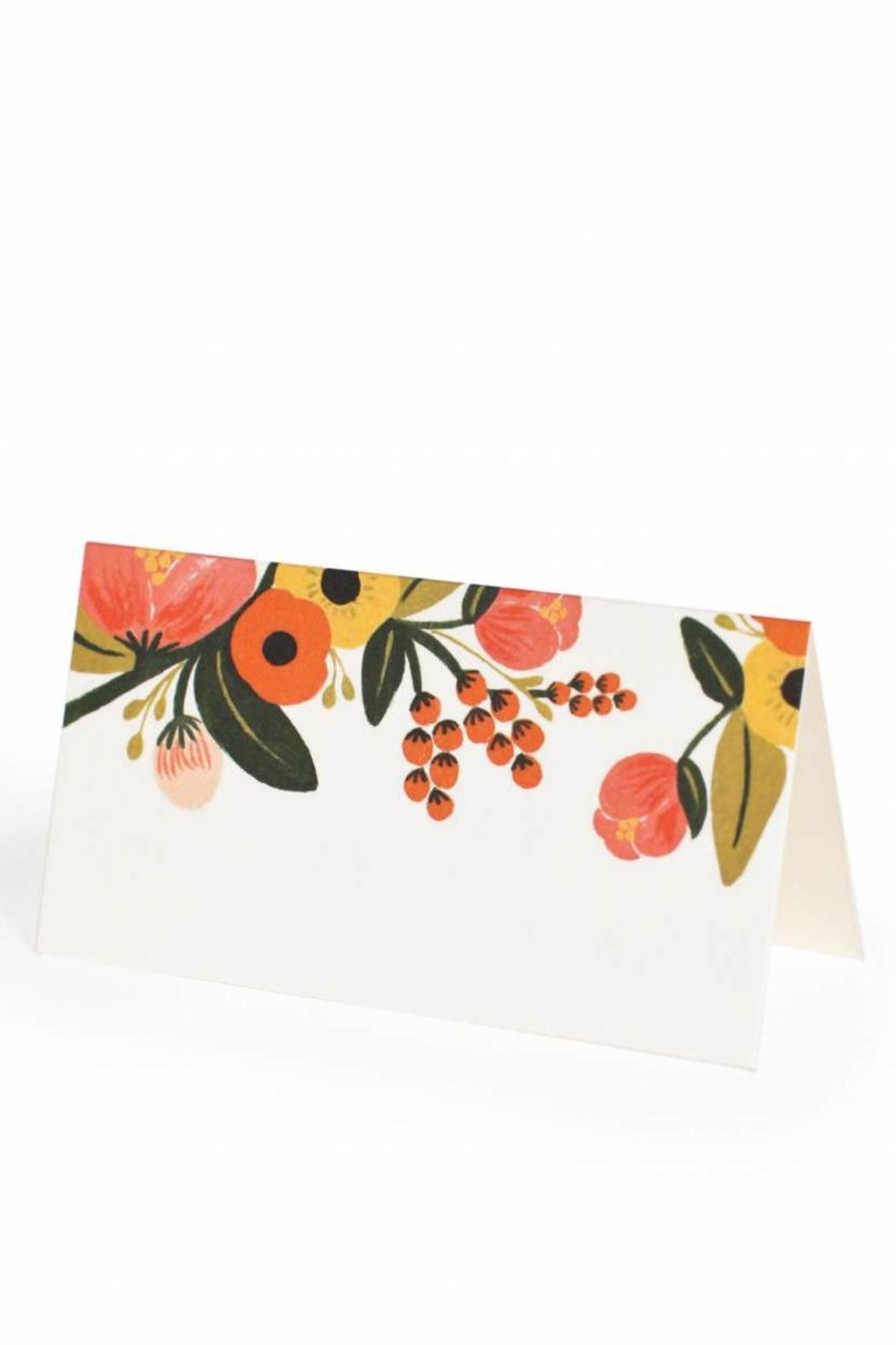 Rifle Paper Co.  Garden Floral Placecards - Front Full Image