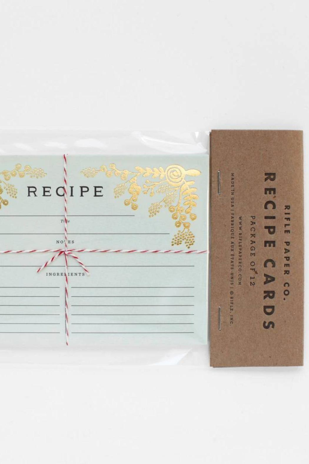 Rifle Paper Co Garden Recipe Cards From Austin By Lost
