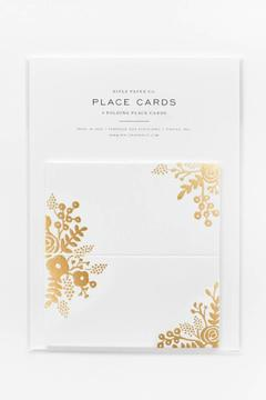 Rifle Paper Co.  Gold Lace Placecards - Product List Image