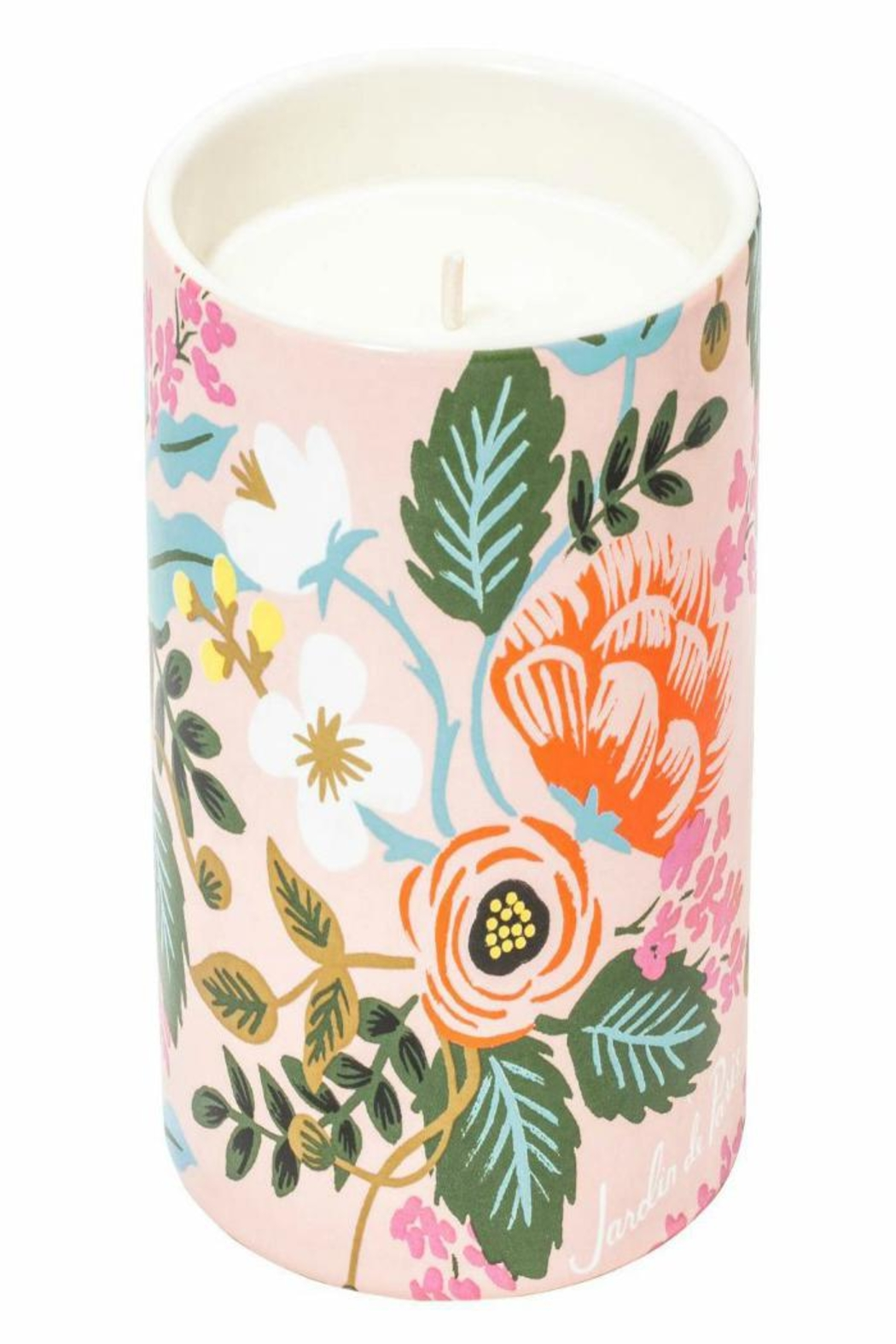 Rifle Paper Co.  Jardin Paris Candle - Front Cropped Image