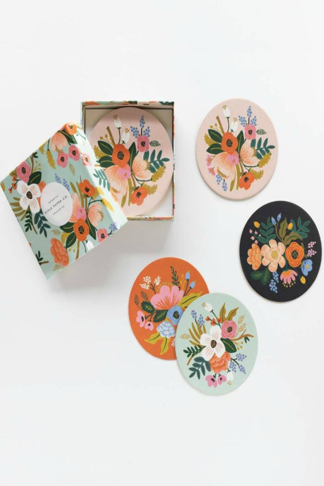 Rifle Paper Co.  Lively Floral Coasters - Main Image