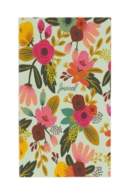 Rifle Paper Co.  Mint Floral Journal - Front cropped