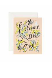 Rifle Paper Co.  New Baby Card - Product Mini Image