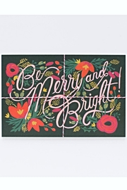 Rifle Paper Co.  Rifle Holiday Postcards - Front cropped