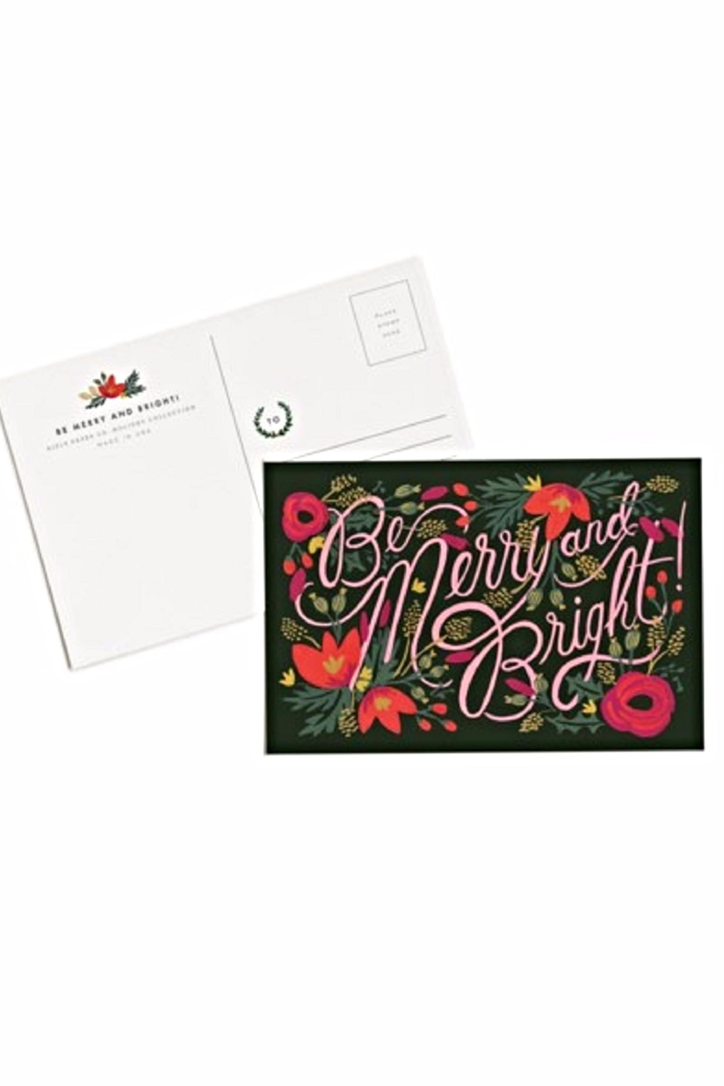 Rifle Paper Co.  Rifle Holiday Postcards - Side Cropped Image