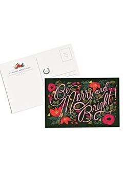 Rifle Paper Co.  Rifle Holiday Postcards - Alternate List Image