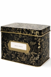 Rifle Paper Co.  Tin Recipe Box - Product Mini Image