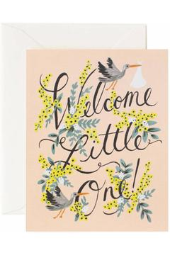 Rifle Paper Co.  Welcome Baby Card - Alternate List Image