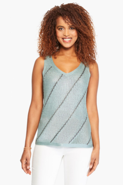 Nic + Zoe Right Direction Sweater Tank - Product List Image