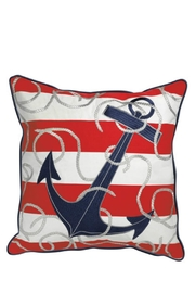 Rightside Design Anchor Sunbrella Pillow - Front cropped