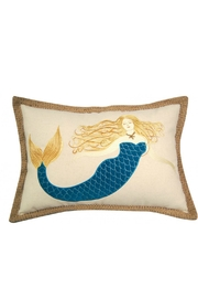Rightside Design Mermaind 3dapplique Pillow - Front cropped