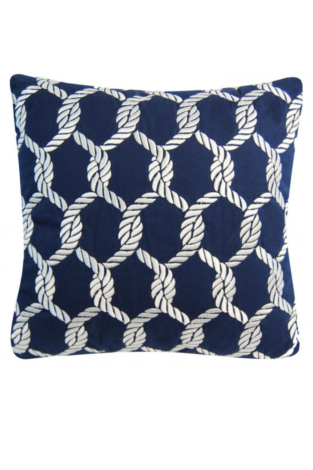 Rightside Design Nauticalknots Sunbrella Pillow - Main Image