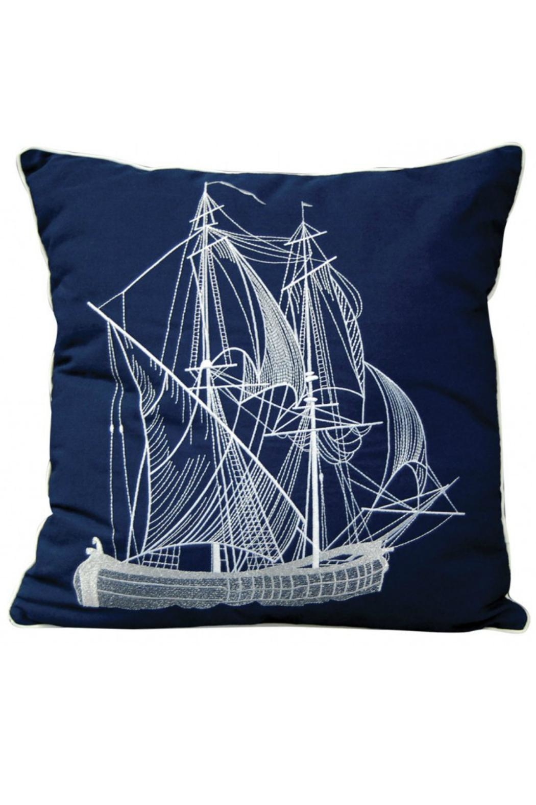 Rightside Design Vintageship Sunbrella Pillow - Main Image