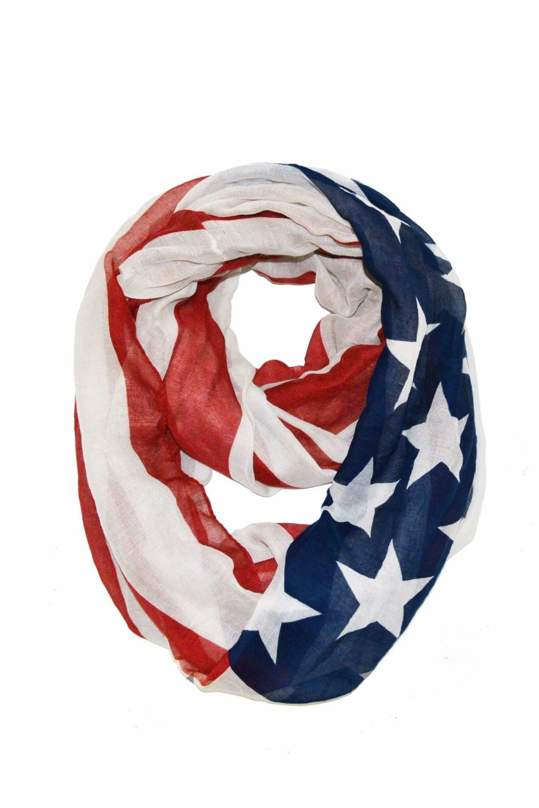 Rikka Infinity Flag Scarf - Front Cropped Image