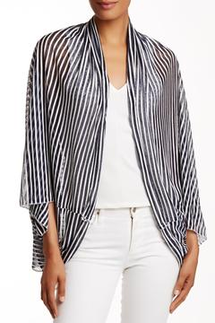 Shoptiques Product: Navy Stripe Cardigan
