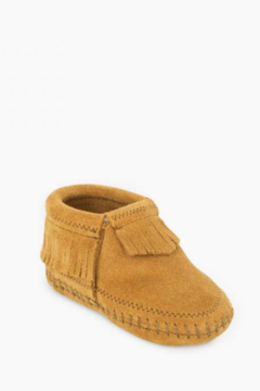 Minnetonka Moccasins Riley Baby Moccasin - Product List Image