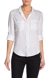 Velvet Heart Riley Button Down Blouse - Front cropped