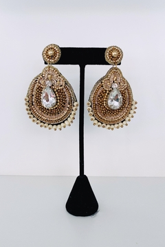 Adriana Bijoux Riley Crystal Beaded Earrings - Product List Image