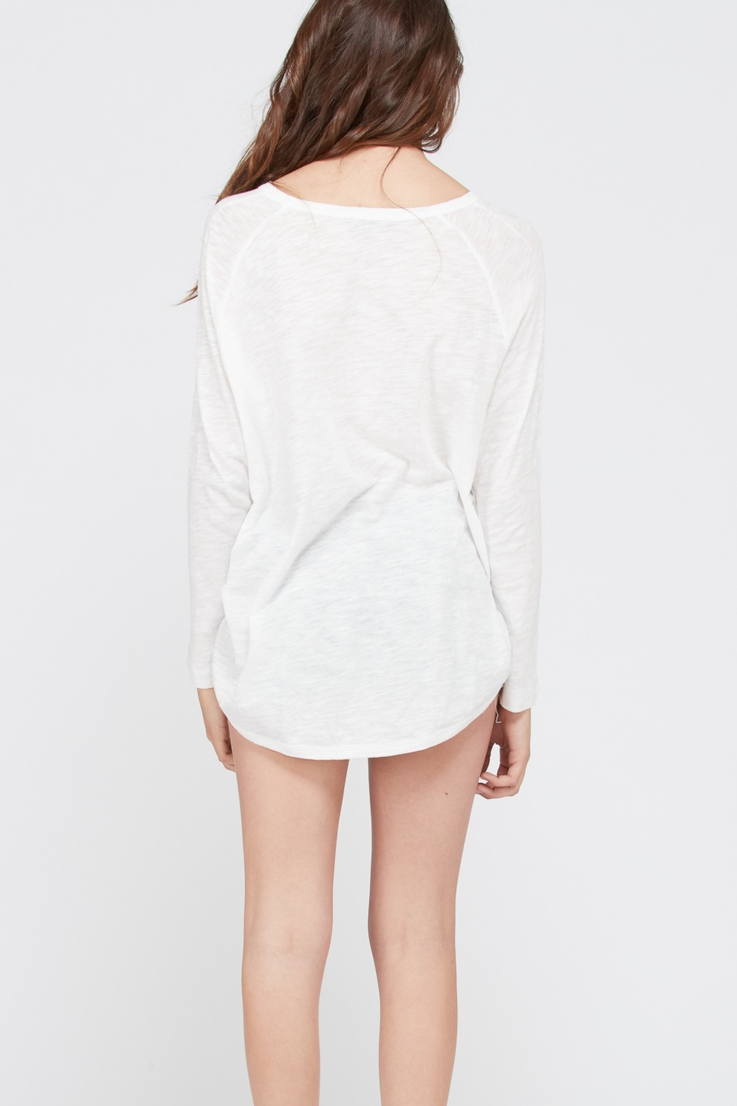 Wishlist Riley Long Sleeve Tee - Front Full Image