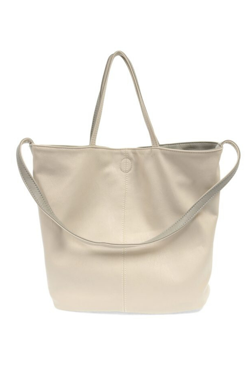 Joy Accessories Riley Reversible Slouchy Tote - Front Full Image