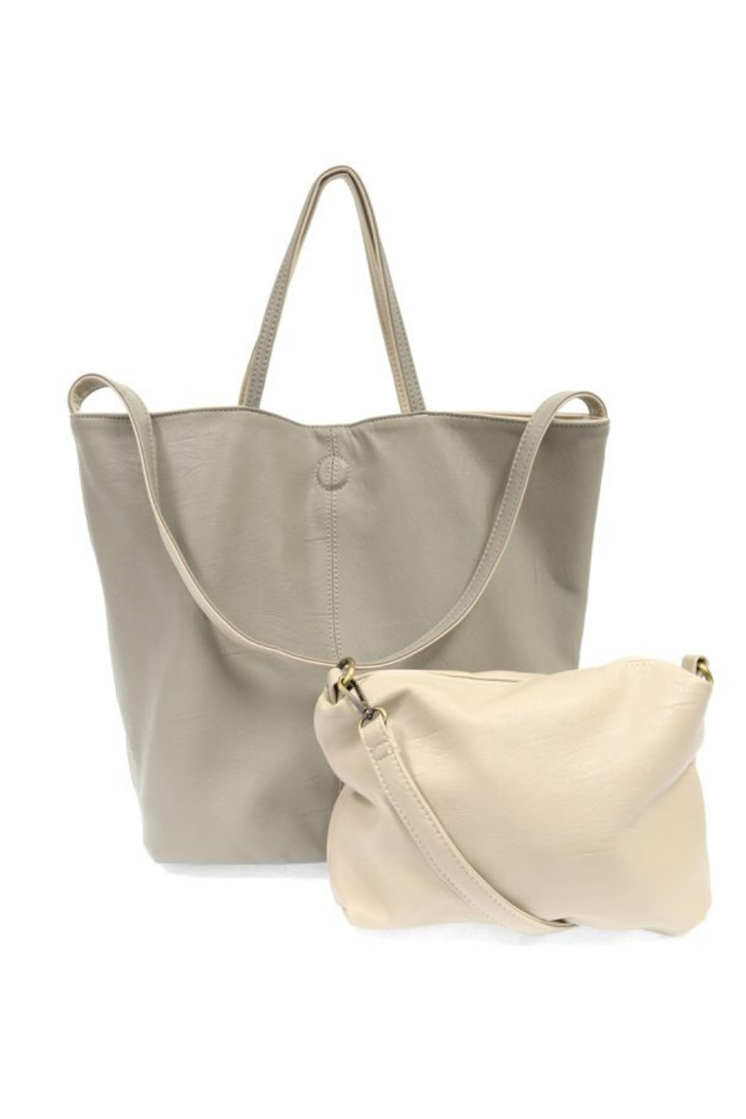 Joy Accessories Riley Reversible Slouchy Tote - Side Cropped Image
