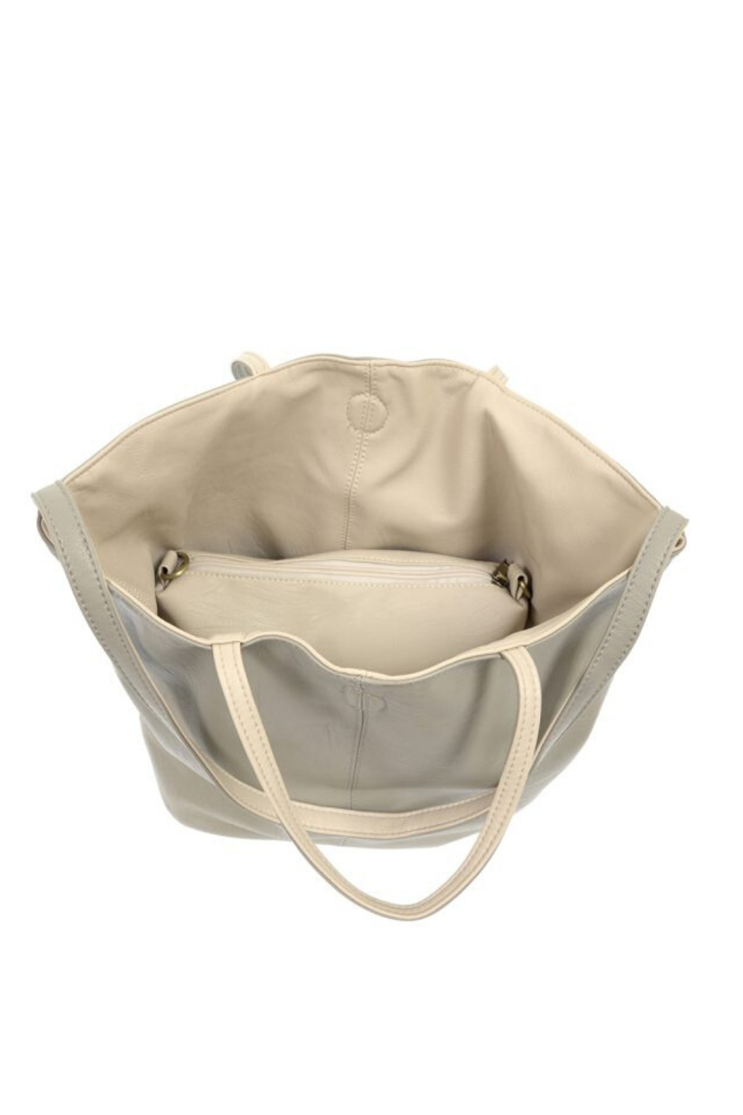 Joy Accessories Riley Reversible Slouchy Tote - Back Cropped Image