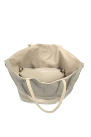 Joy Accessories Riley Reversible Slouchy Tote - Back cropped