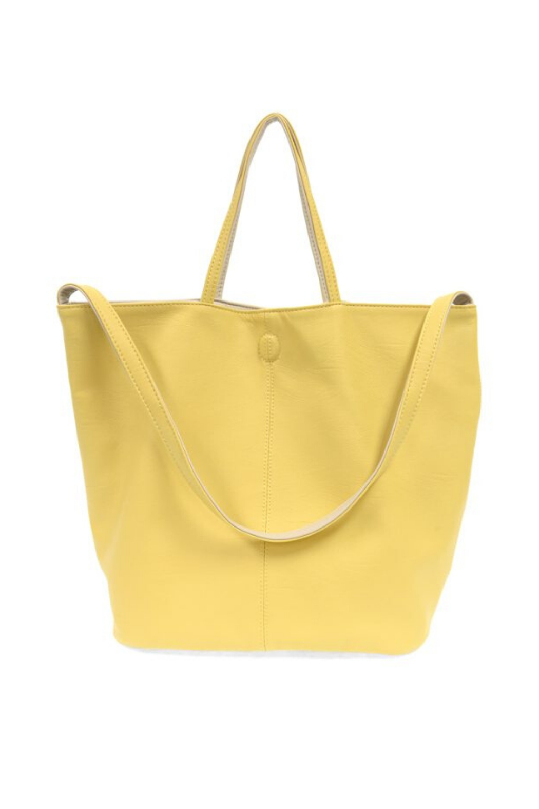 Joy Accessories Riley Reversible Slouchy Tote - Front Cropped Image