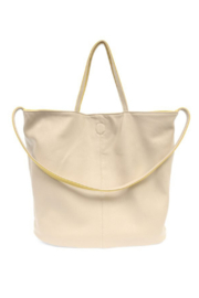 Joy Accessories Riley Reversible Slouchy Tote - Front full body