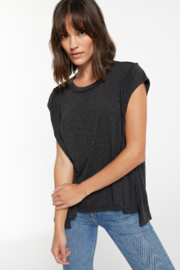 z supply Riley Speckle Tee - Product Mini Image