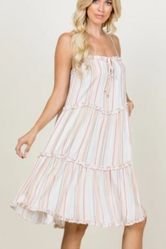 Young At Heart Riley Tiered Dress - Product List Image