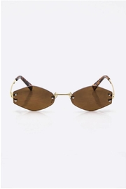 TIMELESS Rimless Sunglass - Front cropped