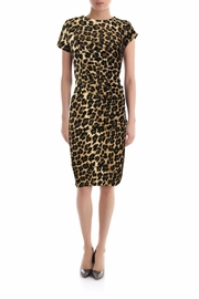 Rinascimento Glitter Leopard Dress - Product Mini Image