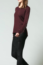 Fate Ring Detail Sweater - Product Mini Image