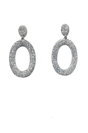 Lets Accessorize Ring Drop Earrings - Product Mini Image