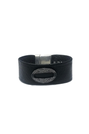 Lets Accessorize Ring Leather Bracelet - Product Mini Image