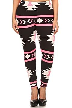 Shoptiques Product: Printed Aztec Leggings