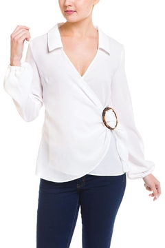 Shoptiques Product: Ring Wrap Blouse