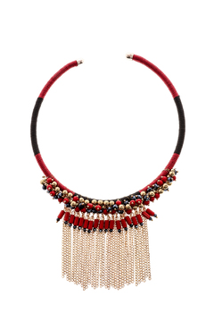 Rings & Things Beaded Bohemian Necklace - Product List Image