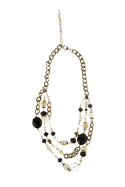 Rings & Things Black Beaded Necklace - Product Mini Image