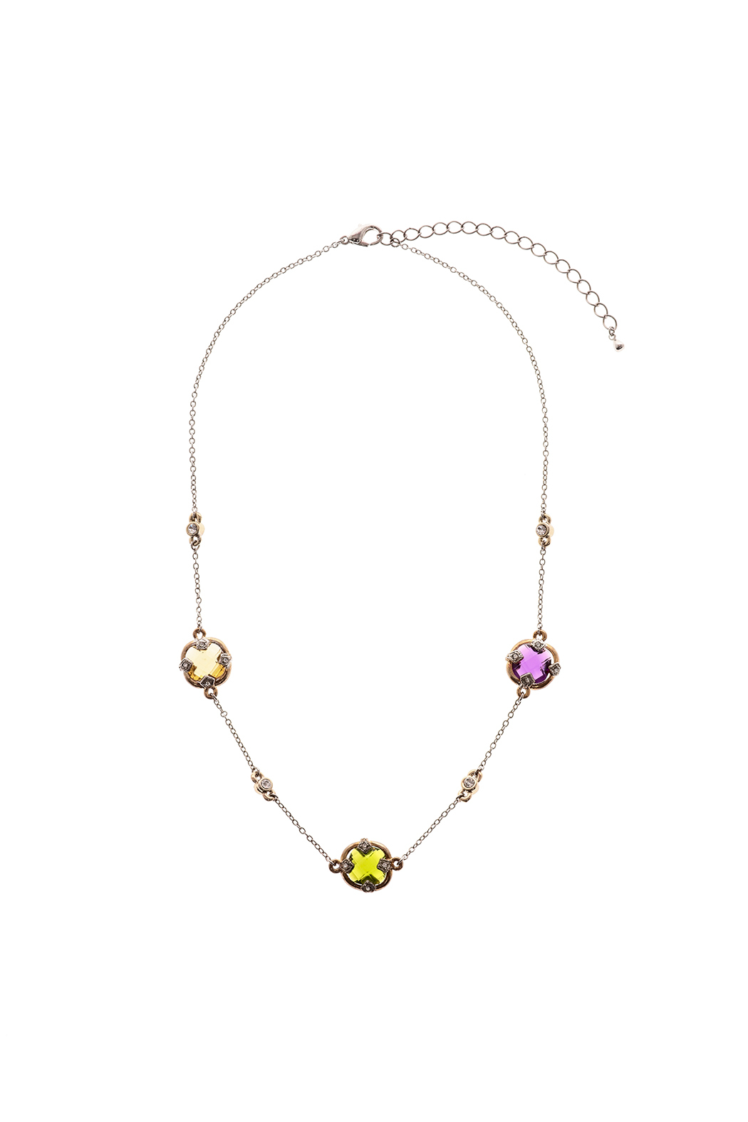 Rings & Things Colored Stones Necklace - Main Image