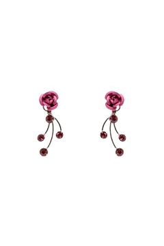 Shoptiques Product: Delicate Rose Earrings