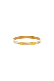 Rings & Things Gold Bangle - Product Mini Image