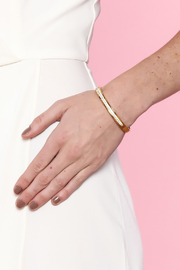 Rings & Things Gold Bangle - Back cropped