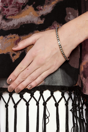 Rings & Things Gold Studded Bangle - Back cropped
