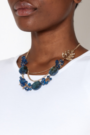 Rings & Things Layered Beaded Necklace - Back cropped