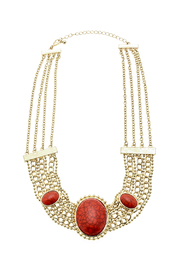 Rings & Things Red Chain Necklace - Product Mini Image
