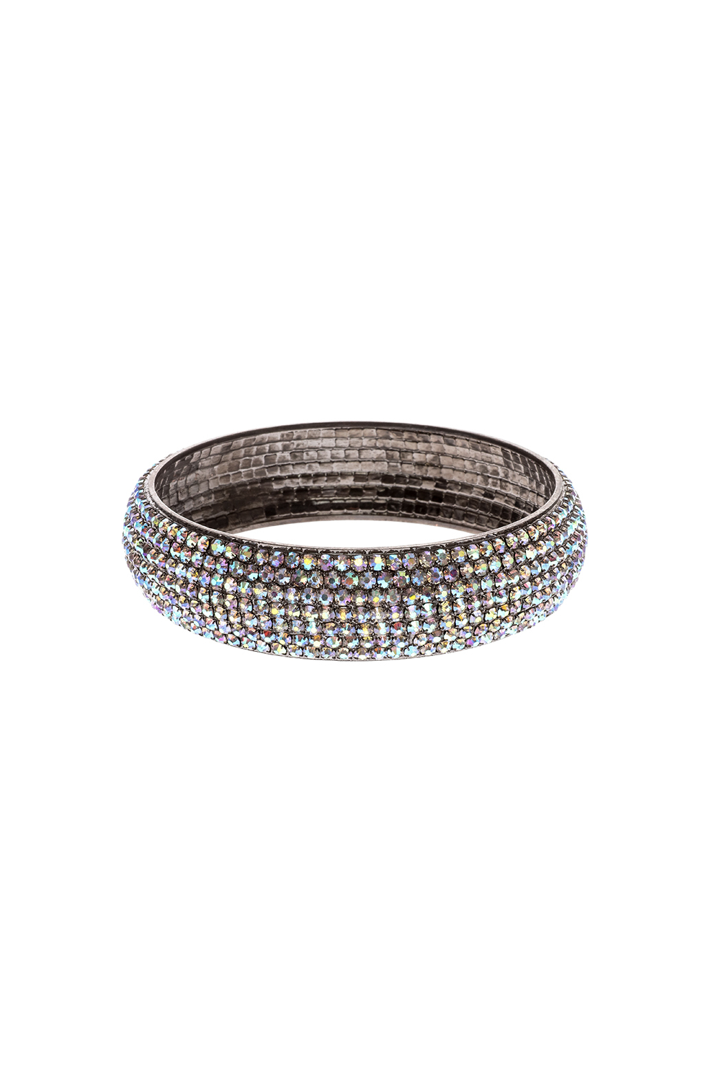 Rings & Things Rhinestone Studded Bangle - Front Cropped Image